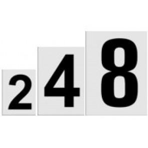 Zahlenschilder