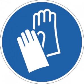 Handschuhe tragen