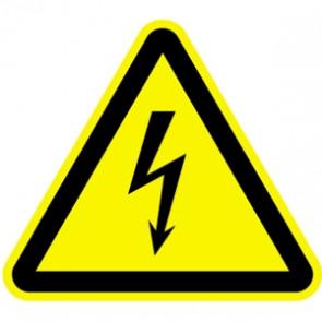 Warnung elektrische Spannung