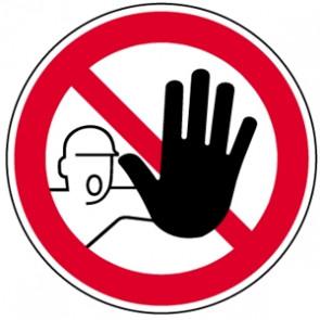 Verbotsschild Durchgang verboten