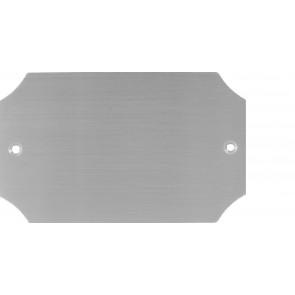 Messingschild Nr. 77410, 100x60 mm