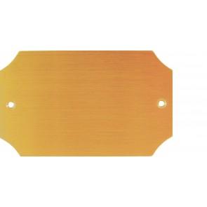 Messingschild Nr. 78410, 100x60 mm