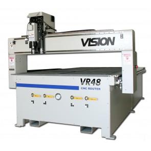 VISION VR 48 Router Gravurfläche 2489 x 1295 mm